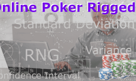 Are American Online Poker Sites Rigged