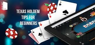 Texas Holdem Poker – Easy Seasoned Advice For Your First Game